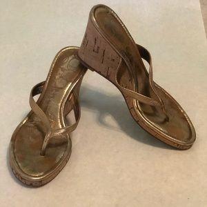 Coach Shoes - Coach Lannie Wedge Sandals